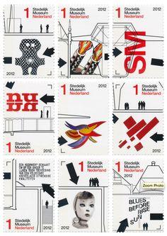 The Netherlands. 2012 Stedelijk Museum Design by Experimental Jetset