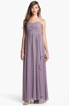 Pin for Later: Brautjungfernkleider, die ihr lieben werdet Donna Morgan Brautjungfernkleid Donna Morgan Lily Draped Chiffon Dress ($230)