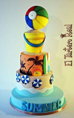 """Día en la playa """"sweet summer collaboration"""" by El Tartero Real"""