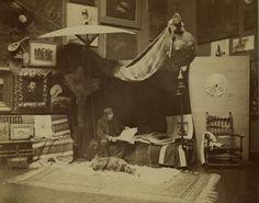 William Merritt Chase in his Tenth Street Studio Manhattan