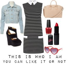 """This is who I am"" by enjoyjessica on Polyvore"