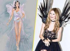 Victoria's Secret Fashion unveils exclusive photos wings outfits the next Victoria's Fashion Show