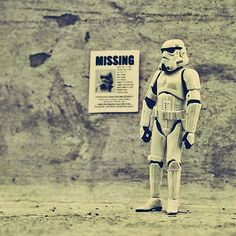 Photo Series of a Loving Stormtrooper Family & A Father Gone Missing