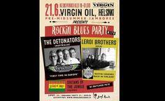 Pre-Midsummer Jamboree presents Rockin Blues Party - Virgin Oil Co., Helsinki - 21.6.2017 - Tiketti