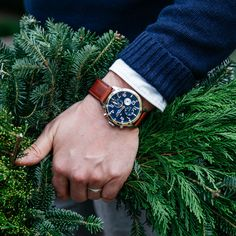 Kirk from Brothers and Craft wearing a Tommy Hilfiger watch