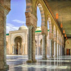 Ana Ibn Malek Mosque <3 Tunisia