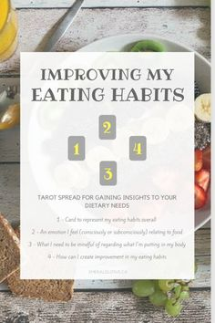 Tarot Spread – Improving Eating Habits