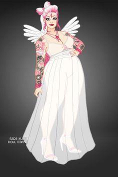 White Angel by Balea ~ The Fly Squad Fashion Dress Up Fashion Dolls, Fashion Dresses, White Angel, Rupaul Drag, Modern Fashion, Squad, Dress Up, Racing, Anime