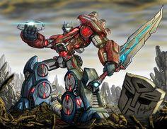 Transformers - Fall of Cybertron Fan Art by Partin-Arts.deviantart.com on @deviantART