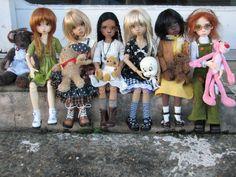 Annabella (fair human), Layla (elf sunkissed), Nyssa (elf tan), Annabella (light tan), Laryssa (richest dark tan), Nyssa (elf fair modified)