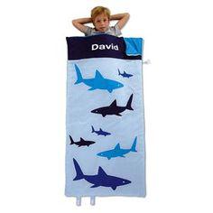 Shark Sleeping Bag | Lillian Vernon - Personalized Gifts for Kids | Lillian Vernon