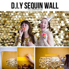 DIY sequin wall for photobooth Sequin Wall, Sequin Backdrop, Diy Backdrop, Red Carpet Backdrop, Diy Photo Booth, Photo Booth Backdrop, Photobooth Idea, Photo Backdrops, Photo Props