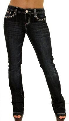 La Idol Women Bootcut Jeans Star Crystal Pockets Flap Stretch in Dark Blue L.A. Idol Jeans,http://www.amazon.com/dp/B00HE4MT0Y/ref=cm_sw_r_pi_dp_Hah4sb11G9H1ZYQ6