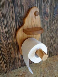 Smart DIY Rustic Toilet Paper Holder To Amazing Bathroom Decor 12 Wooden Toilet Paper Holder, Toilet Roll Holder, Wooden Bed Frames, Wooden Shelves, Rustic Toilets, Idee Diy, Amazing Bathrooms, Rustic Wood, Bath Room