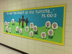 Spring/Easter bulletin board