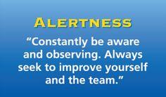 Leadership - Alertness