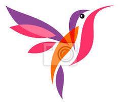 beija flor estilizado - Pesquisa Google