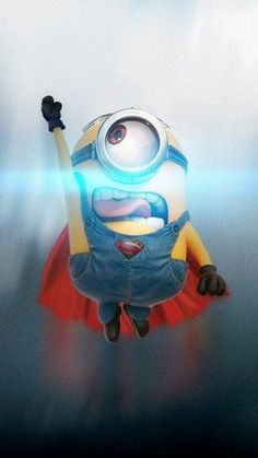 Some Artists have taken everyone's favorite Minions and given them a superhero makeover. Check out these cute Superhero Minions: Amor Minions, Minions Despicable Me, My Minion, Minions Quotes, Funny Minion, Minion 2015, Minion Banana, Clark Kent, Clash Of Clan