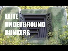 """The Top Five Reasons Why the Elite Are Accelerating Their Escape Into Underground Bunkers -  The following are reasons related to why, they say, the elite, and their senior associates are """"bugging out"""" in ever larger numbers."""