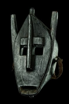 "Hyena mask ""suruku"" - Mali, Bamana"