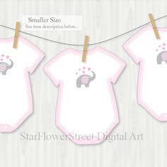 Pink Elephant Baby Shower Advice Card Decorations Games Printable Cutouts Wishes for Baby Girl gray grey one piece bodysuit cut out by StarFlowerStreetDA Wishes For Baby Cards, Baby Girl Cards, Newborn Quotes, Baby Shower Advice, Shower Ideas, Baby Bump Style, Bodysuit, Advice Cards, Baby Shower Gender Reveal