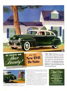 1941 DeSoto Custom Four Door Sedan