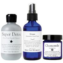 3-Step Facial Care Set - Full Size Products by Angel Face Botanicals