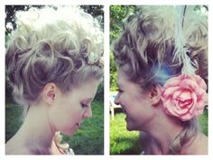 marie antoinette hair by @Sarah Chintomby Box Carter