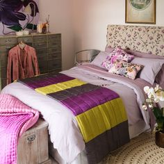 colourful bedroom scheme | cosy | bedroom | country | PHOTO GALLERY | Country Homes & Interiors