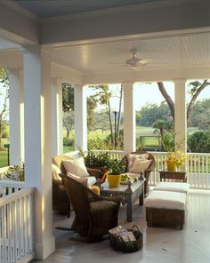 Lovely Front Porch...click to enlarge.