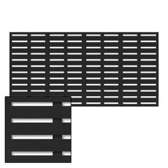 Modinex 6 ft. x 3 ft. Charcoal Gray Decorative Composite Fence Panel Featured in Panama Design-USAMOD5C - The Home Depot Decorative Screen Panels, Outdoor Screen Panels, Outdoor Privacy, Backyard Privacy, Backyard Patio, Plastic Lattice, Privacy Panels, Vinyl Fence Panels, Vinyl Decor