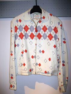 50's Vintage Gabardine Jacket Rockabilly Clothing, 50s Rockabilly, Rockabilly Outfits, Rockabilly Fashion, Vintage Shirts, Vintage Men, Vintage Style, Vintage Fashion, 50s Outfits