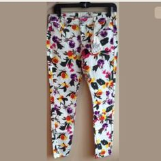 Vanilla star floral jeans Brand new pair of jeans . Vanilla Star  Jeans