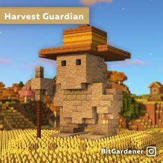 Minecraft Statues, Minecraft Farm, Minecraft Structures, Minecraft Cottage, Minecraft Castle, Minecraft Medieval, Minecraft Plans, Minecraft Survival, Minecraft Blueprints