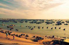 Fishing village, Mui Ne, Phan Thiet, Vietnam