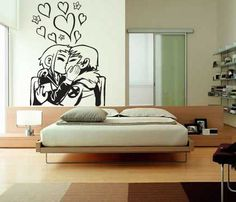 I'm in lesbians with this scott pilgrim wall decal.