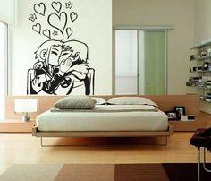 Scott Pilgrim & Ramona Flowers Wall Decal