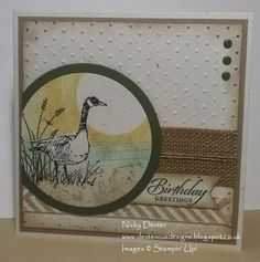 Dexterous Designs: Stampin' Up! UK - a Wetlands Goose