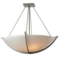Compass Large Semi Flush Ceiling Light | Hubbardton Forge at Lightology