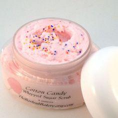 Cotton Candy  4 oz Whipped Sugar Scrub Body