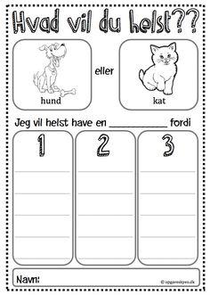 skriveøvelser indskoling skrivning 1. klasse, børnehaveklasse