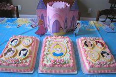 disney princess cake ideas | Color Flow technique for princess birthday cake