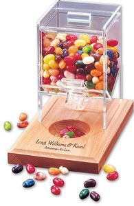Desktop Jelly Belly Dispenser With Multi-color Assortment