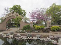 Chinese Garden Moon Gate