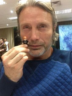 Mads Mikkelsen (Red Dragon) Con, Oct 2015
