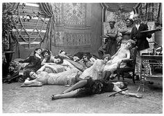 Victorian opium den.... Who needs a bed or couch when you are this high! the floor will do just fine!
