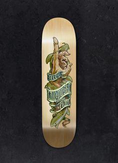 Elan Skateboards on Behance