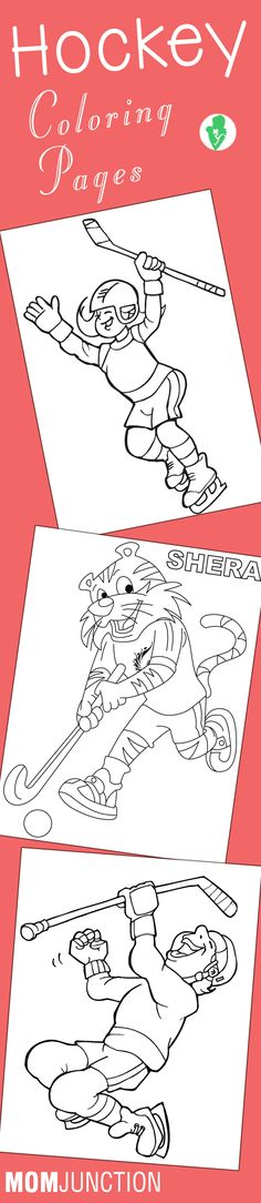 10 Best Hockey Coloring Pages Your Toddler Will Love To Color