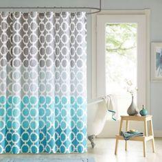 Dani Shower Curtain and Hook Set - BedBathandBeyond.com