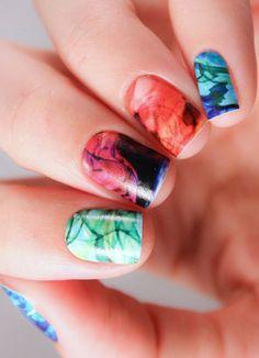 Fancy - Ink Drop Nail Wraps by NCLA
